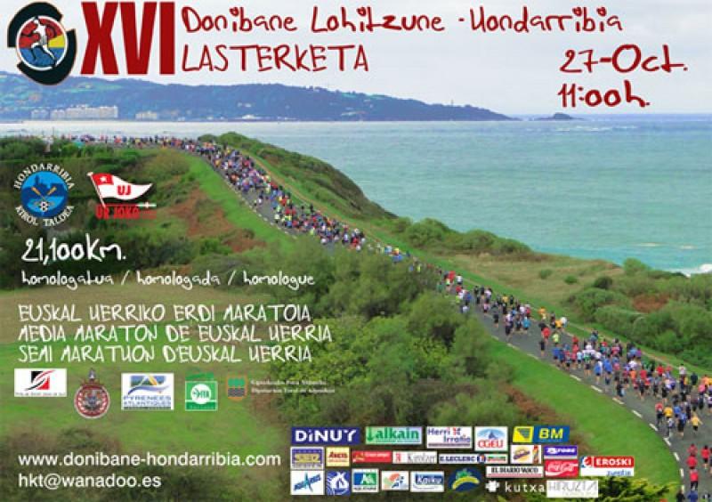 imagen de Media maratón Donibane Hondarribia